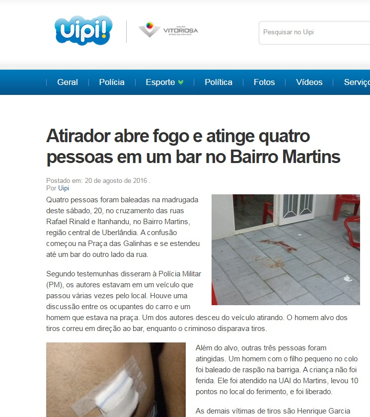 atentado bar